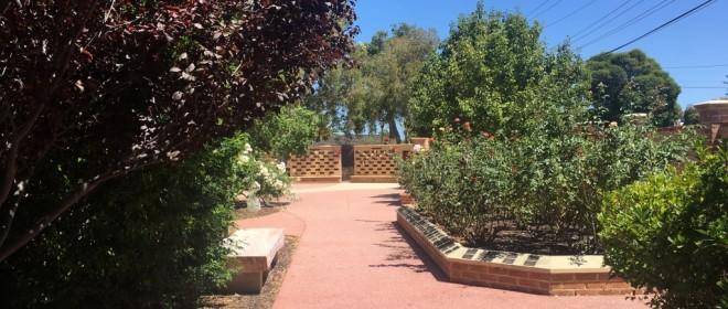 Infant Jesus Columbarium gardens